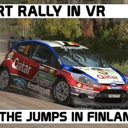 DIRT RALLY VR I FINLAND I WRC FORD FIESTA
