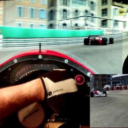 rF2 - Monaco - McLaren MP4/8 - AI race