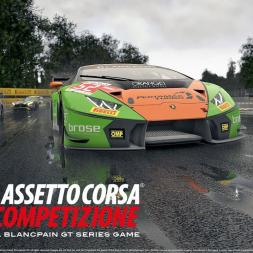 Assetto Corsa Competizione: Left Foot Brake Hotlapping!