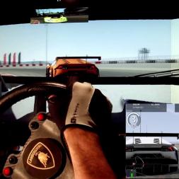 AC - Nurburgring GP(GT) - Lamborghini Huracan GT3 - online race (unexpected) win