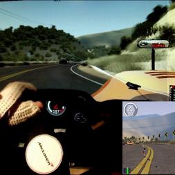 AC - LA Canyons 0.8 - McLaren M8C - 100% AI race (1 lap)