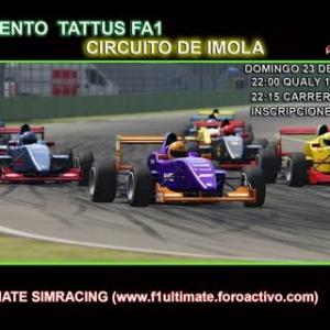F1ultimate.foroactivo.com Tattus FA1  @ Imola Assetto Corsa Oculus VR