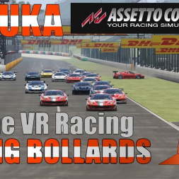 Dirty driver rammed me on the last corner! Online VR racing GT2s at Suzuka