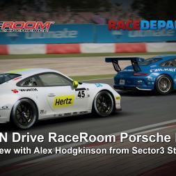 Talk N Drive RaceRoom Porsche DLC   Interview Alex Hodgkinson from Sector3 Studios