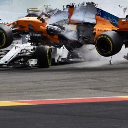 F1 Crashes