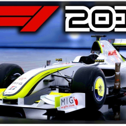 """We are the Champions"" - Jenson Button's Brawn BGP001 - F1 2018"