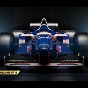 Damon Hill's Williams vs Silverstone GP - F1 2018 Historic Test Drive