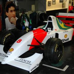 Senna's Last F1 Winner: Driving the McLaren MP4/8 in rF2