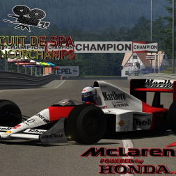 Assetto Corsa * F1 MCLAREN MP4/5 1989 * Spa88 [released + download]