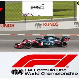 RSS Formula Hybrid 2018 - Sochi - sprintrace 10 laps - start P14 finish P1 - Oculus VR