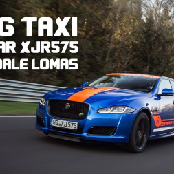 Going Crazy - Ripping Up the Ring in a Jaguar XJR 575