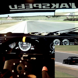 AMS - Johannesburg - DRM Ford Capri Zackspeed - 100% AI race