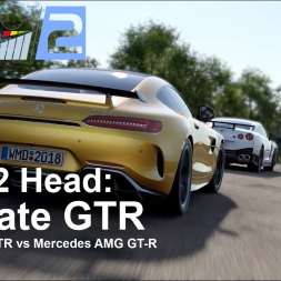 Head 2 Head | EP1 | Battle of the GTRs | Lydden Hill | Project CARS 2 - VR