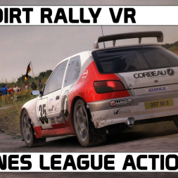 DIRT RALLY VR / FWD KIT CARS / PITLANES LEAGUE ACTION