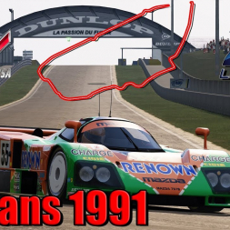 Assetto Corsa * Le Mans 1991 [released + download]
