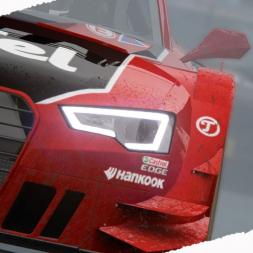 Assetto Corsa Audi RS5 DTM 2015 Wet Race Mod at Imola