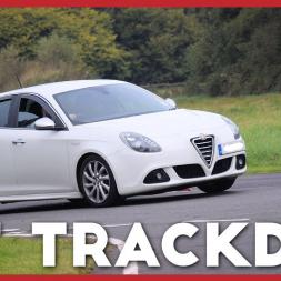 My First trackday! Alfa Romeo day at Curborough track - Alfa Romeo Giulietta Multiair 170