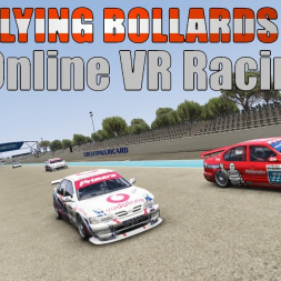 You're not good enough to race this car! Online SRS racing chaos - BTCC Primera at Paul Ricard