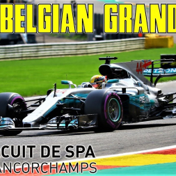 2017 Formula 1 Belgian Grand Prix - Race Highlights