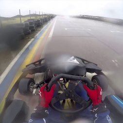 MOD Lyneham Karting M4 Test - Stint 3 - Uni Of Bath Motorsports - (22/09/18)