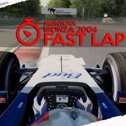 Assetto Corsa Mixed Reality Montoya Fastest Lap at Monza 2004