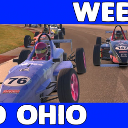 Crazy  Racing - Monday Night Skip Barber UK&I League Race at Mid Ohio Sports Car Course