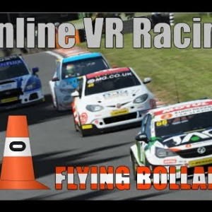 BTCC 30 car online rF2 race in VR 1/2