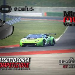Assetto Corsa Competizione VR * Misano World Circuit * Lamborghini Huracán GT3