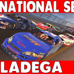 A Clean Run - Nascar iRacing National Series Fixed at Talladega Superspeedway