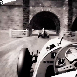 Assetto Corsa Mixed Reality Auto Union typeC F1 1937 at Donington Park 1938