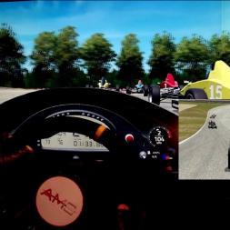 AMS - Barber Motorsport Park - Formula Trainer - 100% AI race