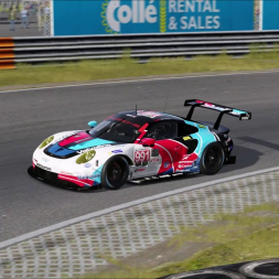 GT3 race @ Zandvoort win Porsche 911 RSR - 10 laps race