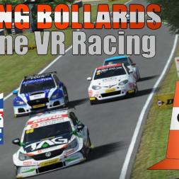 BTCC 30 car online rF2 race in VR 2/2