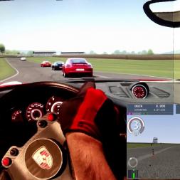 AC - Good Wood - Porsche Carrera 911S vs Cayman 718S - 100% AI race