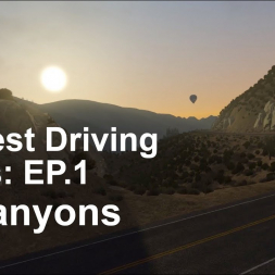 Greatest Driving Roads | EP1 | LA Canyons - Ferrari 488 GTB - Assetto Corsa | VR |