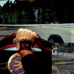 AC - Nordschleife - Maserati 250F 12cyl - 100% AI race