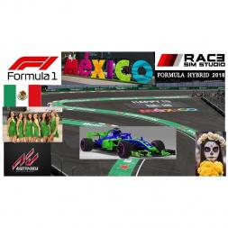 RSS Formula Hybrid 2018 - Mexico - 15 laps final race
