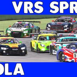 Fun run at Imola in VRS GT Sprint Series