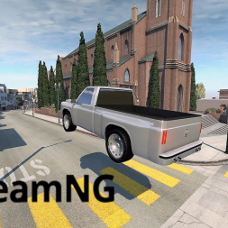 Driving my 1500 HP Automation Truck in BeamNG 0.14!
