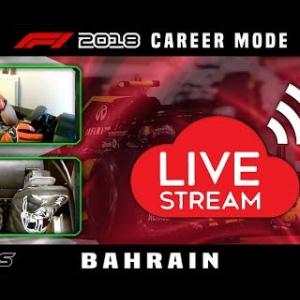 F1 2018 LIVE Career Mode #2 Sakhir, Bahrain