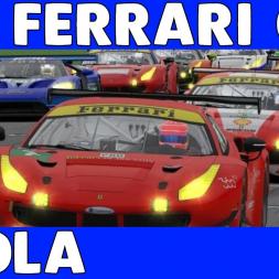 Focused - Ferrari GT3 Challenge Fixed at Imola