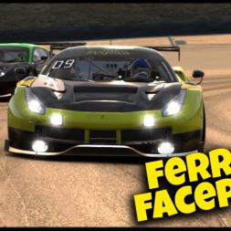 Ferrari Facepalm - iRacing Ferrari GT3 Challenge - WeatherTech Raceway at Laguna Seca
