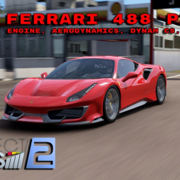 Project Cars 2 * 2018 Ferrari 488 Pista [mod download]