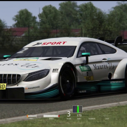 [Assetto Corsa] DTM 2018 testing new physics @ Nurburgring