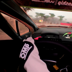 [32:9] WRC 7 - 18km El Chocolate, Mexico - Driver's Eye