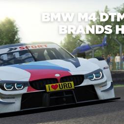 BMW M4 DTM 2018 / Brands Hatch / Assetto Corsa / Cockpit + Replay