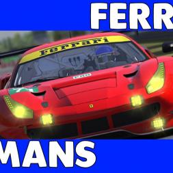 A Clean Run? - GTE Ferrari at Le Mans in iLMS