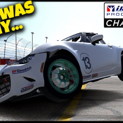 That Was Why... - iRacing Production Car Challenge - Phoenix International Raceway
