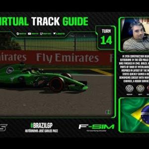 2018 F1 Brazilian Grand Prix Virtual Track Guide | Autódromo José Carlos Pace, Brazil