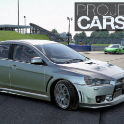 Project CARS 2: AWD drifting with Huracan and EVO!